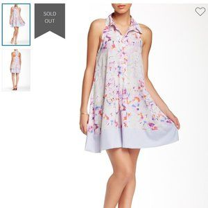 W118 by Walter Baker Donna Shirt Dress Size 8